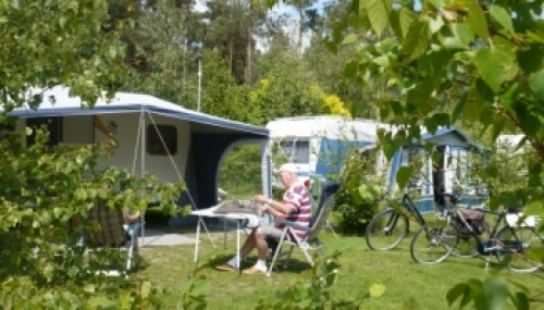 Beste Camping met privé sanitair Drenthe | De Norgerberg HH-48